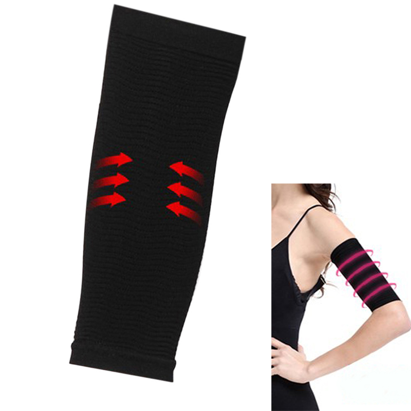 1Pair Slim Thin Arms Forearms Hands Shaper Burn Fat Belt Compression Arm Slimming Shape Massage Warmer Calorie Off Lean Arm