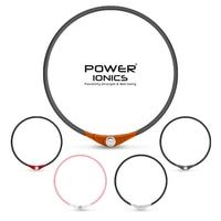 Power Ionischen IDEE HALSKETTE 4in1 Multifunktions Titan/Ge/FIR/Tourmaine 2000 ionen/cc Sport Wasserdicht Gesunde bio PT069