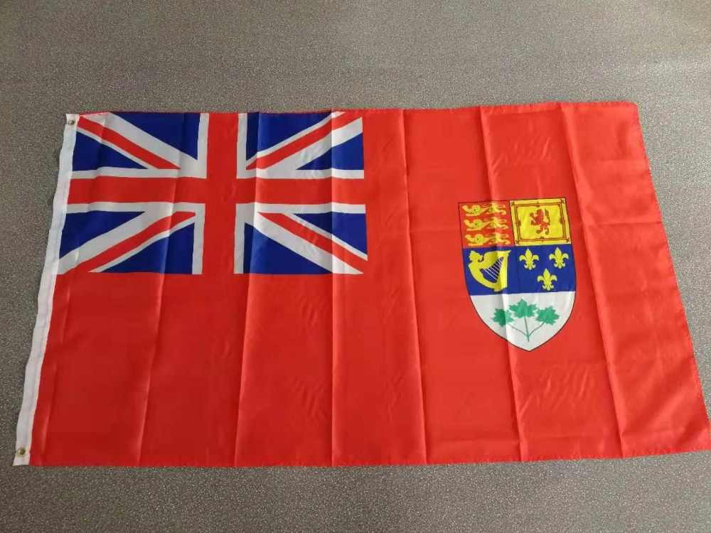 90x150cm Red Ensign defaced with the Royal Arms of Canada National Flag 1922-1957
