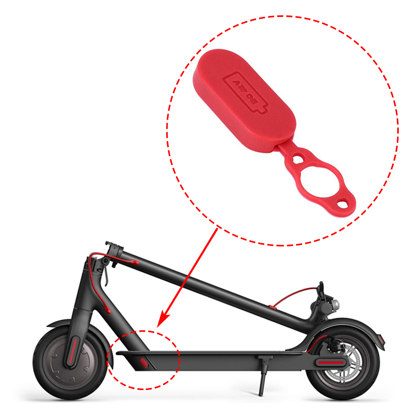Rubber Cover Plug for XIAOMI MIJIA M365 Electric Scooter Parts
