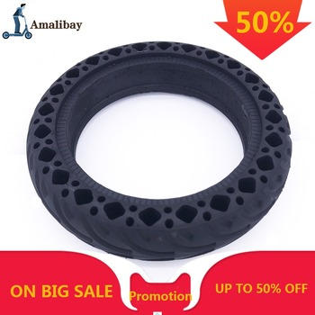 Amalibay Rubber Solid Tire for Xiaomi Mijia M365 Electric Scooter Shock Absorber Damping Tyre For M365 Pro Scooter Tubeless 8.5 suitable for xiaomi m365 electric scooter solid honeycomb explosion proof stab proof tire free inflatable rubber tire 8 5 2 0