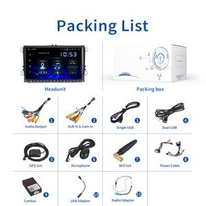 "Image 5 - Dasaita 9 ""IPS Screen 1 Din autoradio Android 10 Carplay per VW GPS Polo Golf Eos Tiguan Seat leon Passat Car Stereo TDA7850"