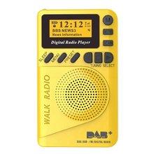 Карманное цифровое радио dab 875 108 МГц мини + с mp3 плеером