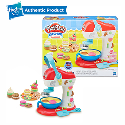 Hasbro Play-Doh Kitchen Creations Spinning Treats Mixer Non Toxic Modeling Clay Play Doh Educational DIY Toys For Kids