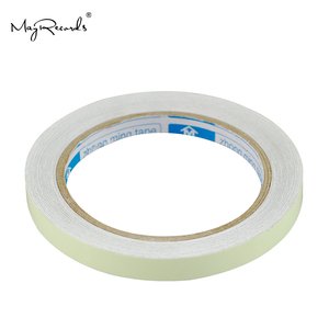 Image 3 - Free Shipping One Roll 1cm*10M Luminous Tape Self adhesive Glow In The Dark Safety Stage Home Decorations Warning Tape
