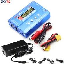 SKYRC IMax B6 V2 Цифровой ЖК-дисплей Lipo NiMh 3S зарядное устройство с питанием переменного тока 12 В 5A адаптер для Lipo батареи