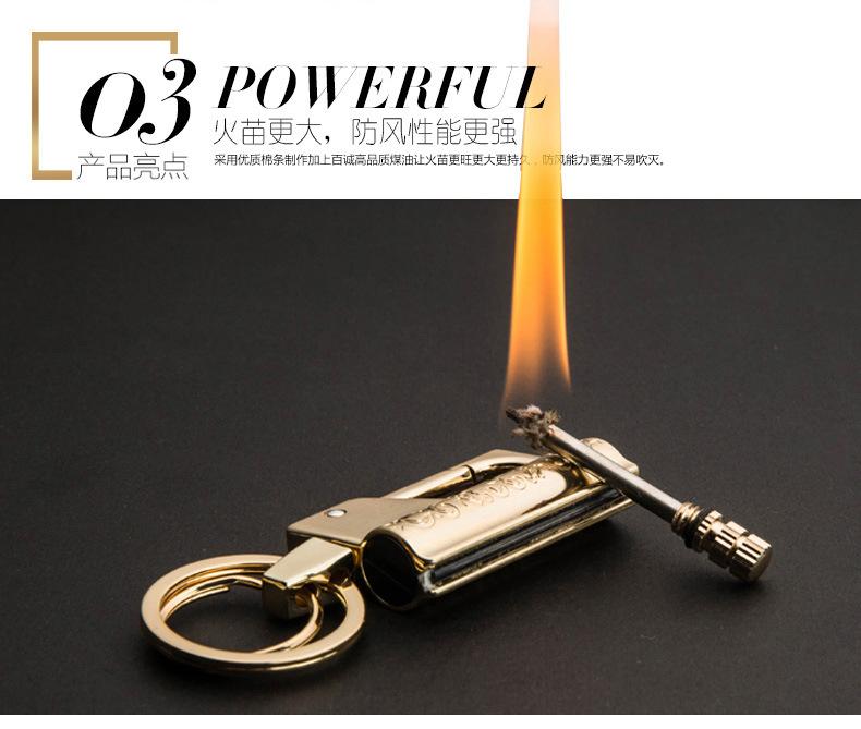 Флэш зажигалка с защитой от ветра и воды