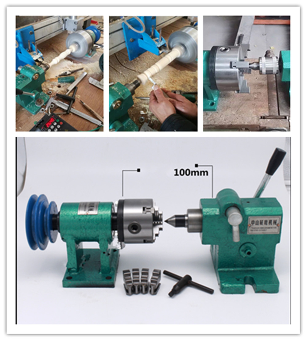 80/125/160 Lathe Spindle Assembly With Flange Connection Plate Transition Plate 80/125/160/200 Spindle Three-jaw Four-jaw Chuck