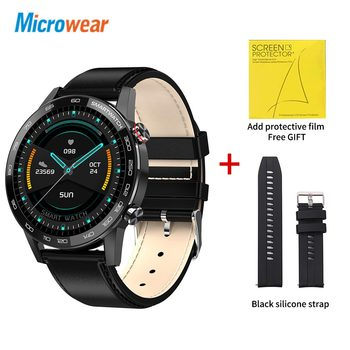Microwear L16 Smart Watch Men Sports Fitness Tracker IP68 Waterproof Heart Rate Monitor Android IOS Full Touch Screen Smartwatch 26