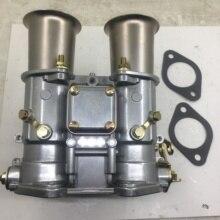 مكربن carb 45 DCOE Weber 45 مللي متر اختناق مزدوج 19600.017 4 cyl 6 Cyl أو V8 محركات لـ fajs emi Weber Solex dellorto air horns