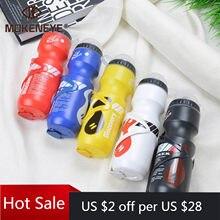 Bouteille de boisson 750ml + porte-bouteille de support pour VTT, gourde en plastique, bouilloire portable, pour sports de plein air