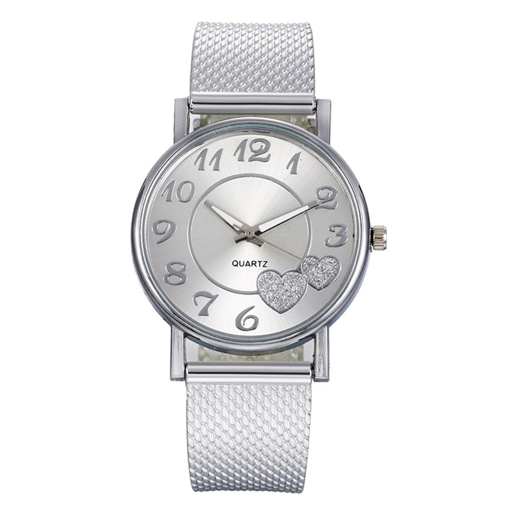 2020 Fashion Ladies Quartz Bracelet Watch Female Mesh Belt Dress Wristwatch Luxury Brand Relogio Feminino Montres Clock Hot Sale