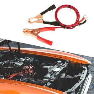Image 5 - 1 para 50A zacisk akumulatora samochodowego i kabel krokodyla samochód dostawczy Test baterii klipsy ołowiane zaciski krokodylkowe elektryczne kabel mostkujący zacisk kablowy