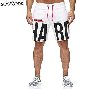 Streetwear casual men's sweatpants 2019 new men's fashion shorts jogger fashion fitness brand shorts comfortable sportswear цена 2017
