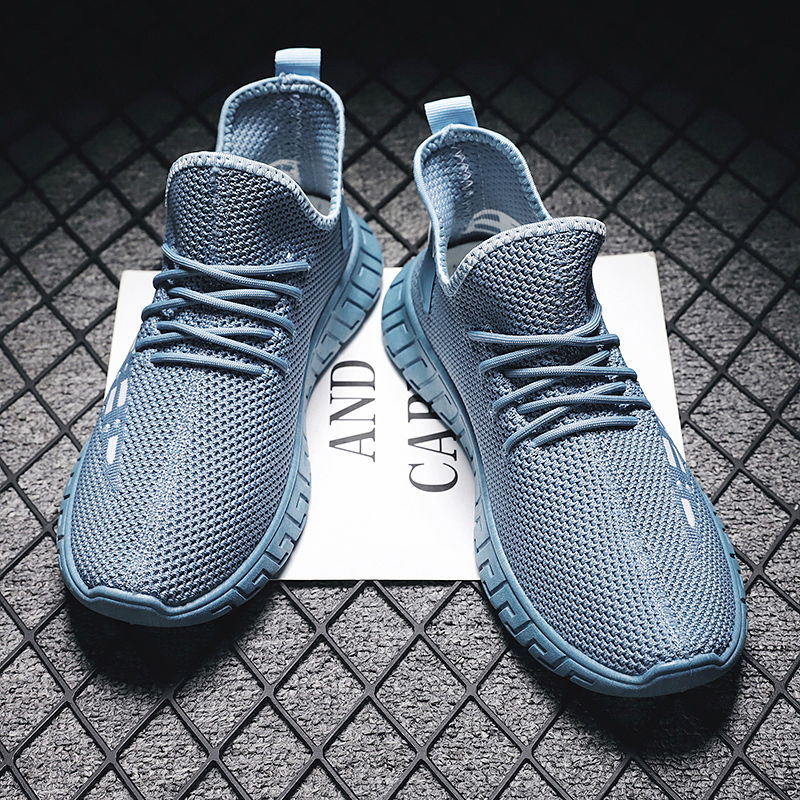 Korean Hip-hop Running Shoes  Men Comfort Super Lightweight Walking Jogging Sport Sneakers Breathable Athletic Running Trainers