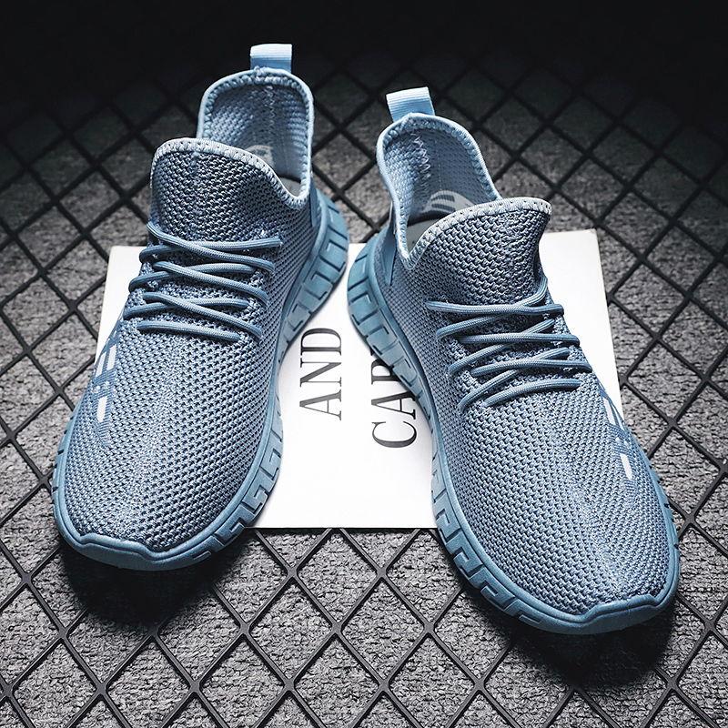 Korean Hip-hop Running Shoes  Men Comfort Super Lightweight Walking Jogging Sport Sneakers Breathable Athletic Running Trainers