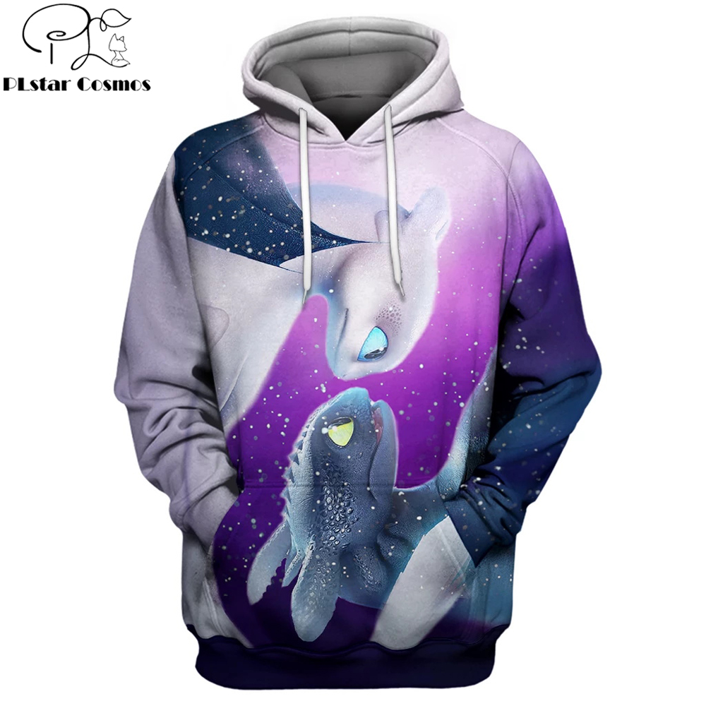 2019 New Fashion Men hoodies How to Train Your Dragon movie 3D Printed Unisex Hooded Sweatshirt streetwear sudadera hombre XL-55 image