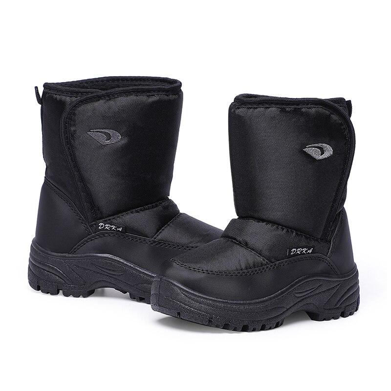 Новинка 2020, детские модные ботинки SKHEK, детская обувь, теплые и удобные ботинки для мальчиков, детские зимние ботинки для мальчиков, черные б...