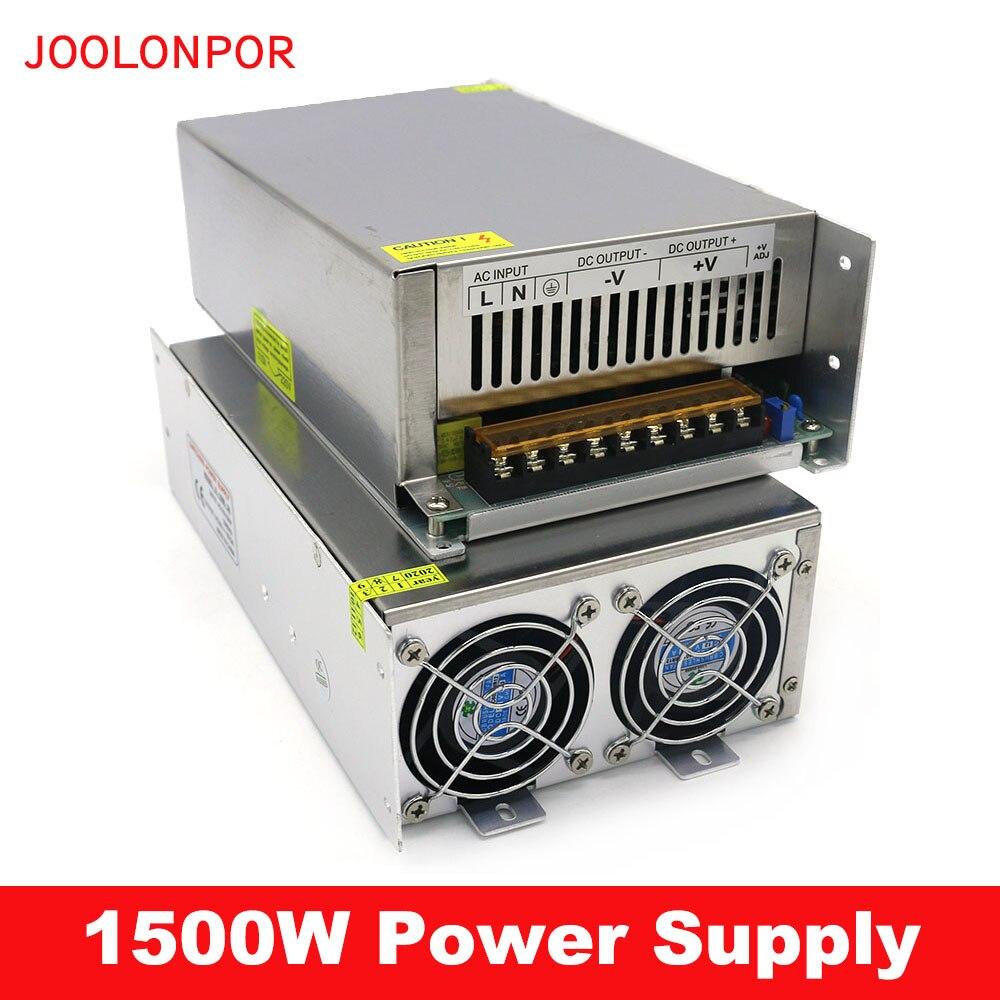 1500 Вт Источник питания переменного тока в постоянный ток 24 в 30 в 36 в 48 в 30A 40A 50A 60A промышленный импульсный источник питания трансформатор для ...