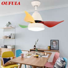 Modern Ceiling Fan Lights Lamps Contemporary Ventilator Remote Control  Lighting Dining room Bedroom Restaurant Fashional