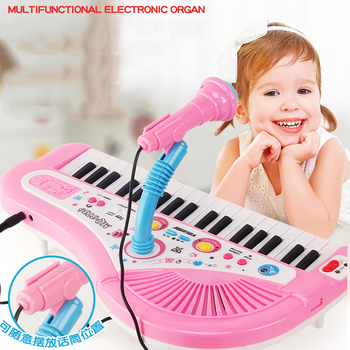 swan 37 keys melodica teaching music fundamentals mouth organ melodica black color musical instruments accordion accessories Kids Fashion Piano 37 Keys Mini Electronic Organ Musical Piano Teaching Keyboard With Microphone Educational Toys For Children