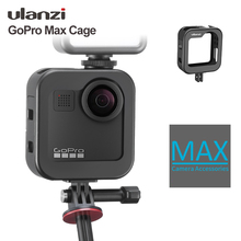Ulanzi GM 3 Gopro Max Metal Cage Cold Shoe Vlog 1:1 GoPro Max Cage Case Frame