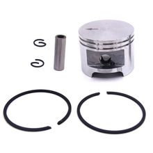 46 mm anel de pistão circlip pino pulso kit acessórios para stihl 029 super ms290 caber anéis 1127 030 2003 jardim gramado motor