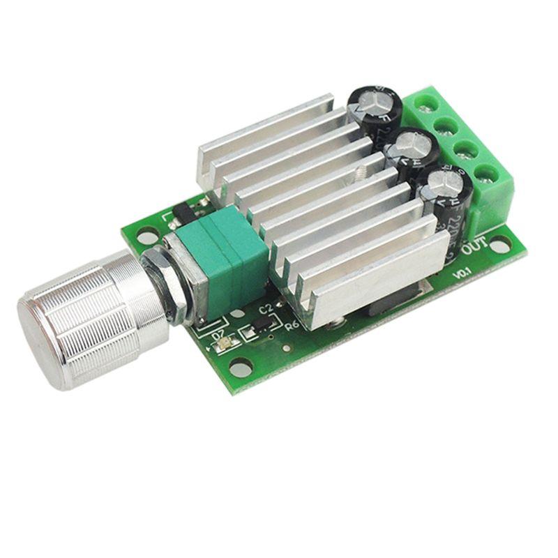 12v 24v 10a pwm dc controlador de velocidade do motor ajustável regulador interruptor dropshipping