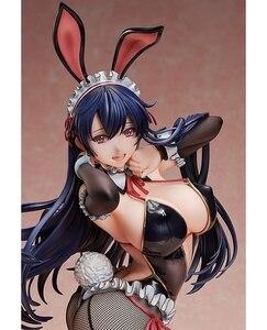 Image 3 - 1pcs Japanese Anime BINDing Creators Opinion native Ayaka Sawara Cover Sexy Bunny Girls 1/4 PVC action figure model toys doll