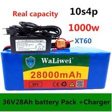 36V 28ah аккумулятор 18650 литий-ионный 36V 28000mah 10s4p большой емкости BMS Электрический велосипед XT60 интерфейс + зарядное устройство