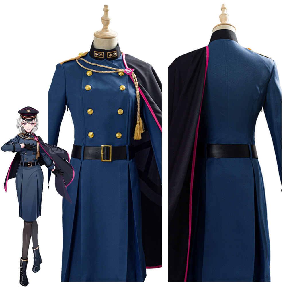 DRB Division Rap Battle Hypnosis Mic Aohitsugi Nemu Cosplay Costume Adult Halloween Carnival costumes suit