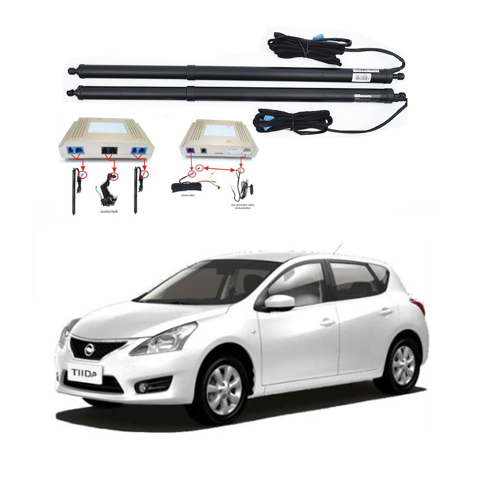 New Electric Tailgate Refitted For NISSAN TIIDA 2016-2020 Tail Box Intelligent Electric Tail Door Power Tailgate Lift Lock