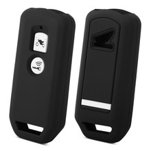Protective Silicon Key Case For Honda X ADV SH 300 150 125 Forza 300 125 PCX150 2018 Motorcycle Scooter 2 Button Smart Key(China)
