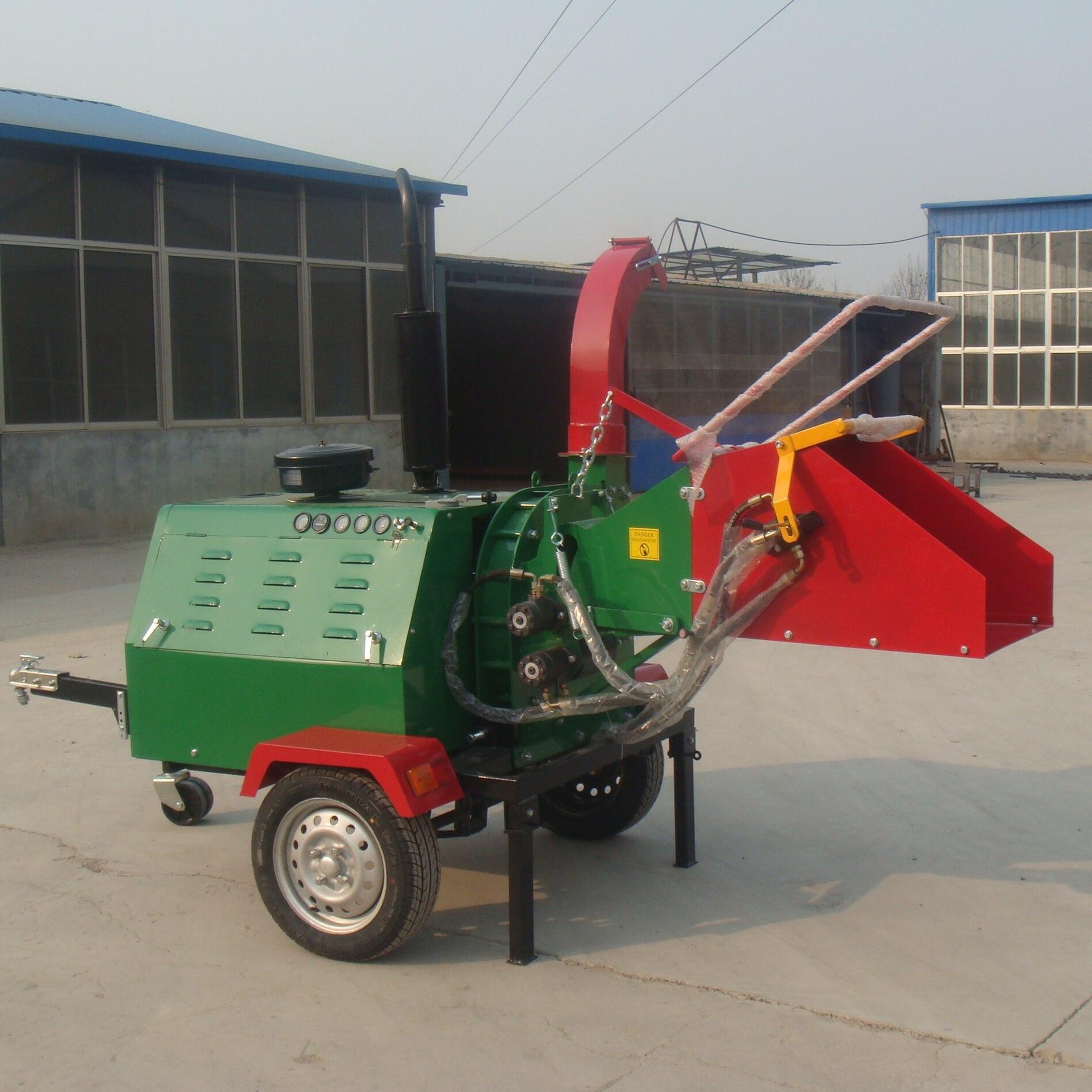 WCS-18HP Tailed Wood Chipper Shredder Machine