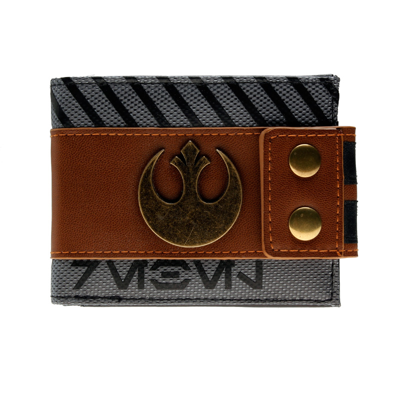 Star Wars Wallet Fashionable High Quality Men's Wallets Designer New Purse DFT1930