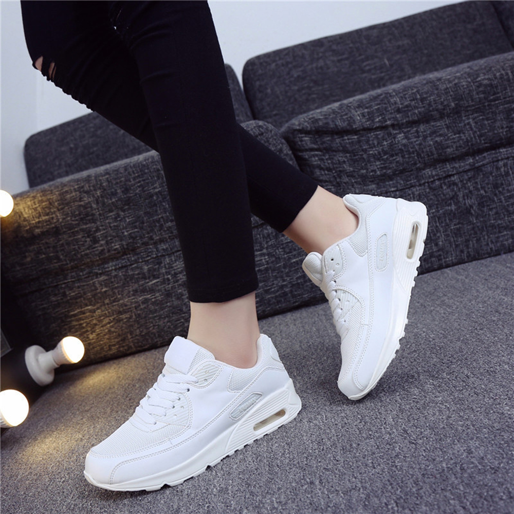 New Designer Korean White Platform Sneakers Casual Shoes Women Fashion Tennis Women Footwear Basket Net Surface Women Shoes