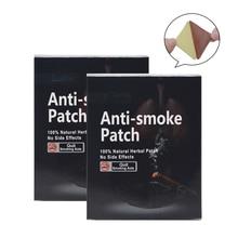 70pcs 100% Natural Ingredient Anti Smoke Patch Stop Quit Smoking Cessation Chinese Herbal Medical Plaster Massage Health Care