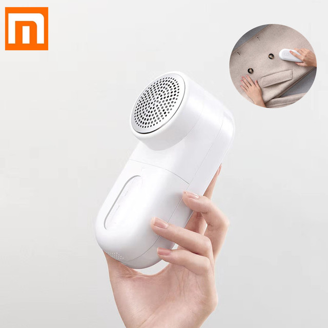 Original Xiaomi Mijia Portable Lint Remover Hair Ball Trimmer Sweater Remover 5 Leaf Cutter Head Mini Motor Trimmer