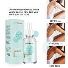 30ML LANTHOME Body Self Tanners Natural Bronzer Sunscreen Self Sun Tanning Enhance Lotion Tanning Cream Tanner Lotion Skin Darke