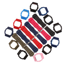 Resin Strap Case Pin-Buckle Small DW5600 Casio 5000 Rubber for Square Dw5600/5000/5035/..