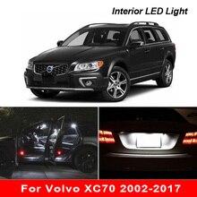 مصباح سيارة Canbus LED ، ملحقات إضاءة صندوق السيارة ، بدون خطأ ، داخل السيارة ، فولفو XC70 2002 2017
