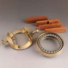 traditional Chinese Brass seal engraving tools Seal cutting Bed Seal engraving tools Seal fixture for Circular Square Seal