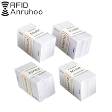 100pcs Quality Assurance Id Access Control Card Rifd Used Time Attendance Smart Chip Tk/em4100 Key Badge 125khz Read Only Card