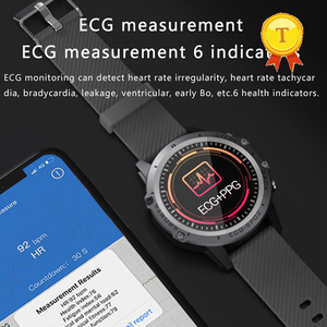 "Image 1 - אק""ג PPG חכם שעון גברים ספורט מדויק קצב לב Bluetooth Smartwatch עמיד למים IP68 מדויק דם לחץ חמצן smartband"