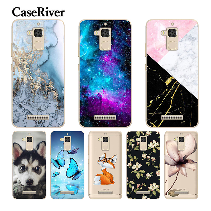 "CaseRiver Soft Silicone 5.2 ""Til ASUS Zenfone 3 Max Case Cover TPU Phone Back Shell Til Capa ASUS Zenfone 3 Max ZC520TL sag"