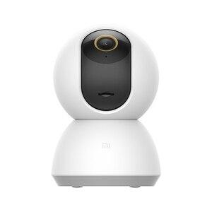 Image 2 - 새로운 원본 Xiaomi Mijia 스마트 IP 카메라 2K 360 각도 비디오 와이파이 나이트 비전 무선 웹캠 보안 캠보기 베이비 모니터