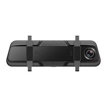 Full HD Mirror Dash Cam Video Recorder Smart Car Front Rear Dual Lens 1080P DQ-Drop