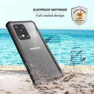 Image 3 - Ngoài Trời Chống Bụi Chống Bụi Dành Cho Samsung Galaxy Note 20 S20 Plus Ốp Lưng Silicone Mềm Dành Cho Samsung S20 cực Vỏ