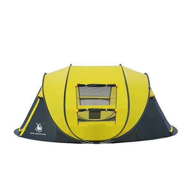 HLY Large throw tent!outdoor 3-4persons 8