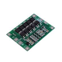 Li-Ion Lithium Battery 18650 Charger PCB BMS Protection Board with Balance for Drill Motor 11.1V 12.6V Lipo Cell Module(China)